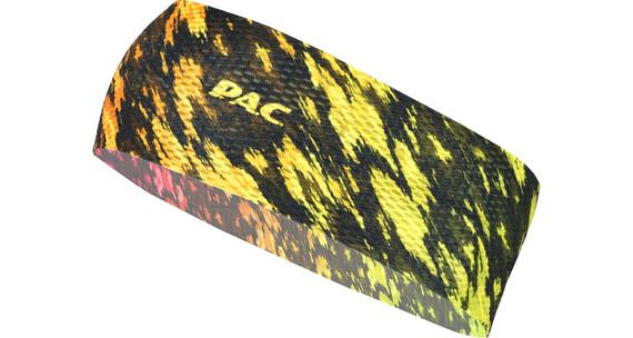 P.A.C. Mesh Nakrycie głowy żółty/czarny